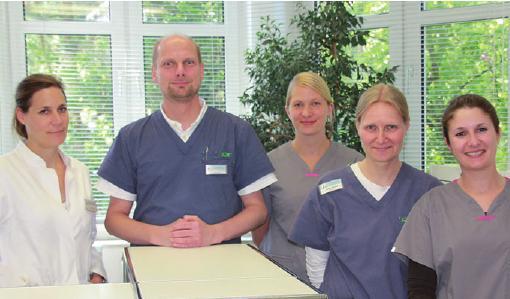 Helfer mit Herz: Dr. Freund und Team