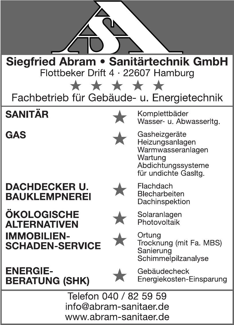 Siegfried Abram Sanitärtechnik GmbH