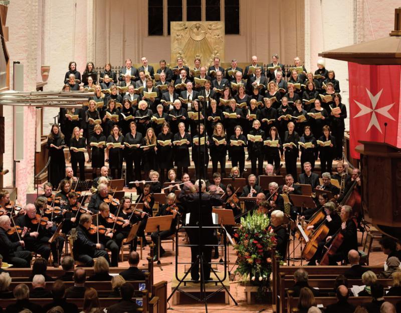 Der Chor in der St. KatharinenkircheFOTO: BILDWERKSTATT NIENSTEDTEN