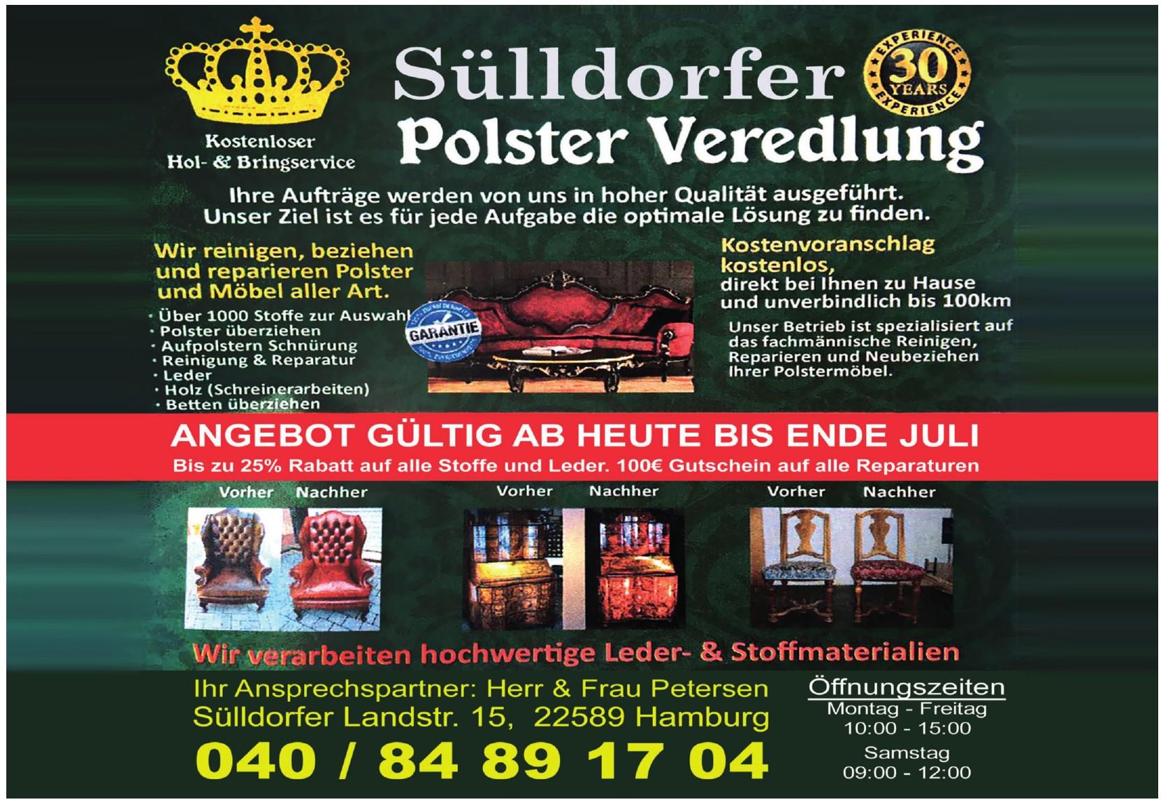 Sülldorfer Polster Veredelung