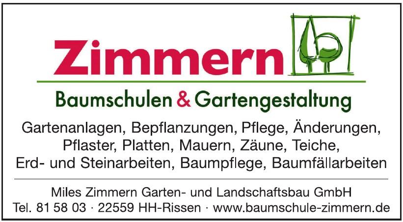 Miles Zimmern Garten und Landschaftsbau GmbH