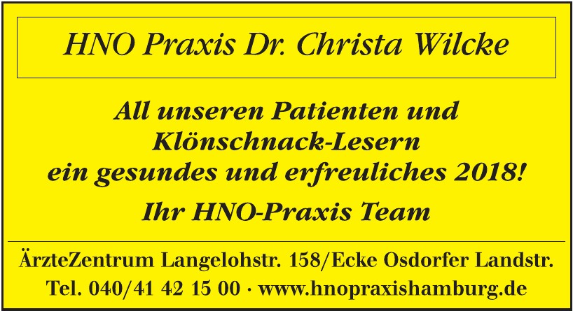 Dr. Christa Wilcke